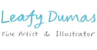 Leafy Dumas - fine artist and illustrator